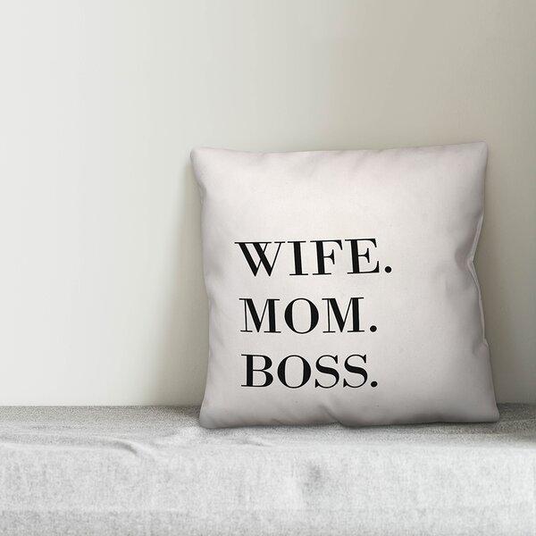 Boss Pillow Wayfair