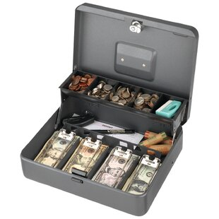 Tiered Tray Cash Box Key Lock by Steelmaster