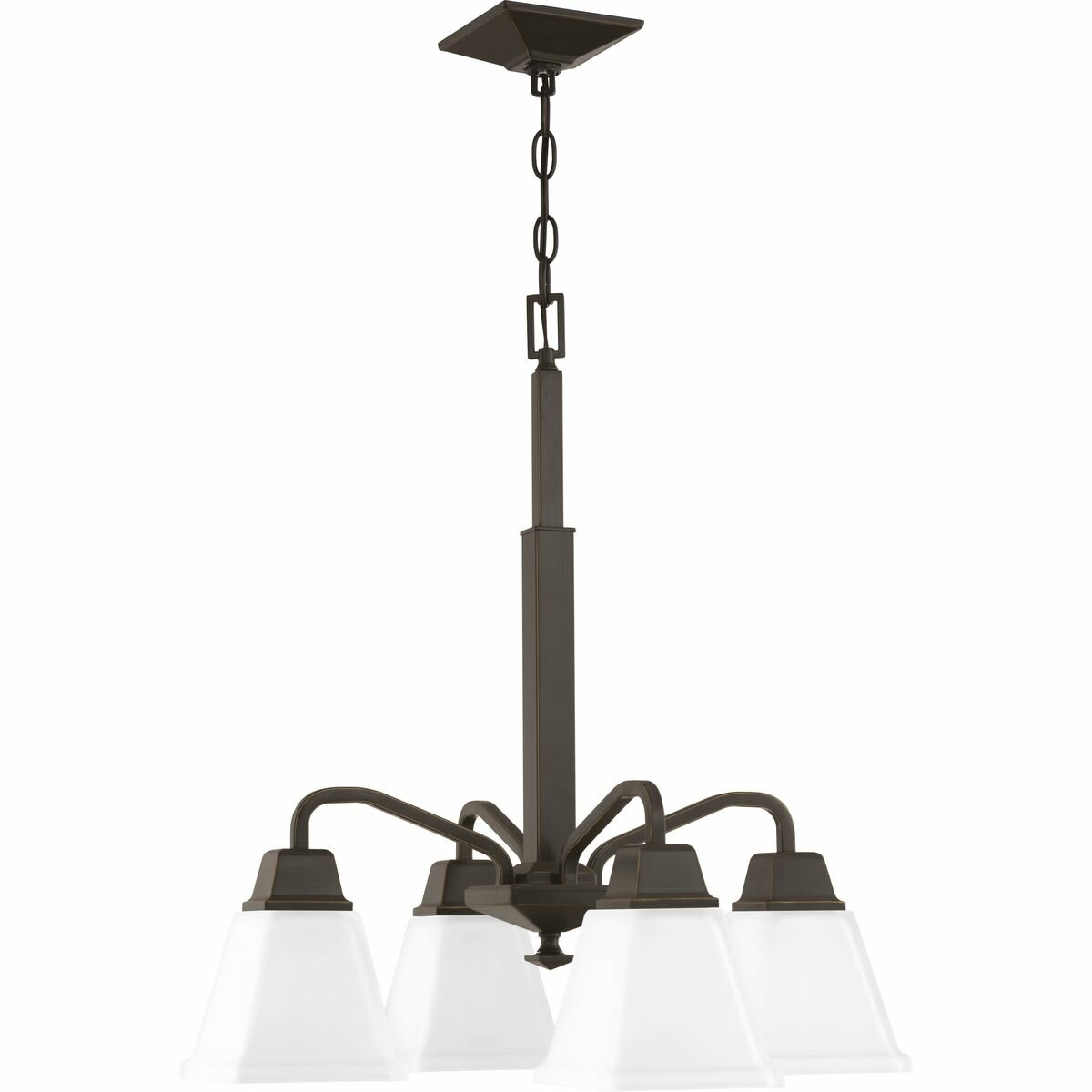 Ebern Designs Jadyn 4 Light Shaded Classic Traditional Chandelier Wayfair
