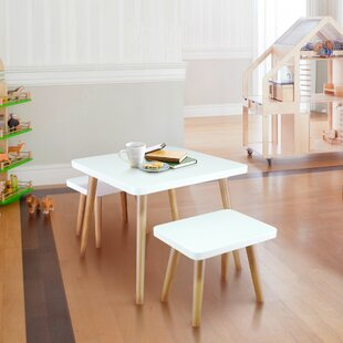 Warwickshire Kids 3 Piece Activity Table and Stool by Harriet Bee