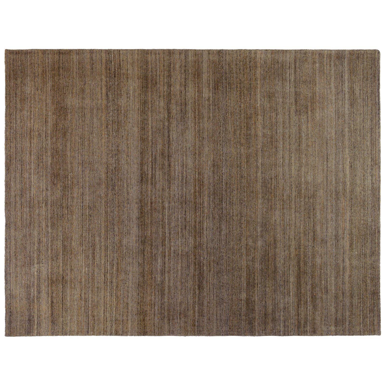 Aga John Oriental Rugs Hand Tufted Wool Brown Area Rug