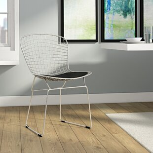 Great Price Burkey Wire Dining Chair by Ivy Bronx
