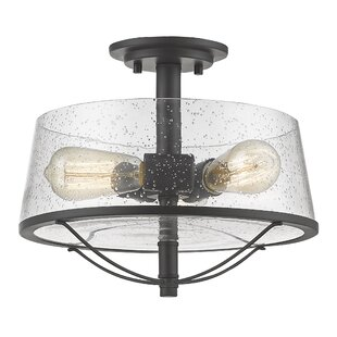 Crowder 3-Light Semi Flush..