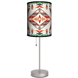 Coupon Paolini Native American Rug 19 Table Lamp By Ebern Designs