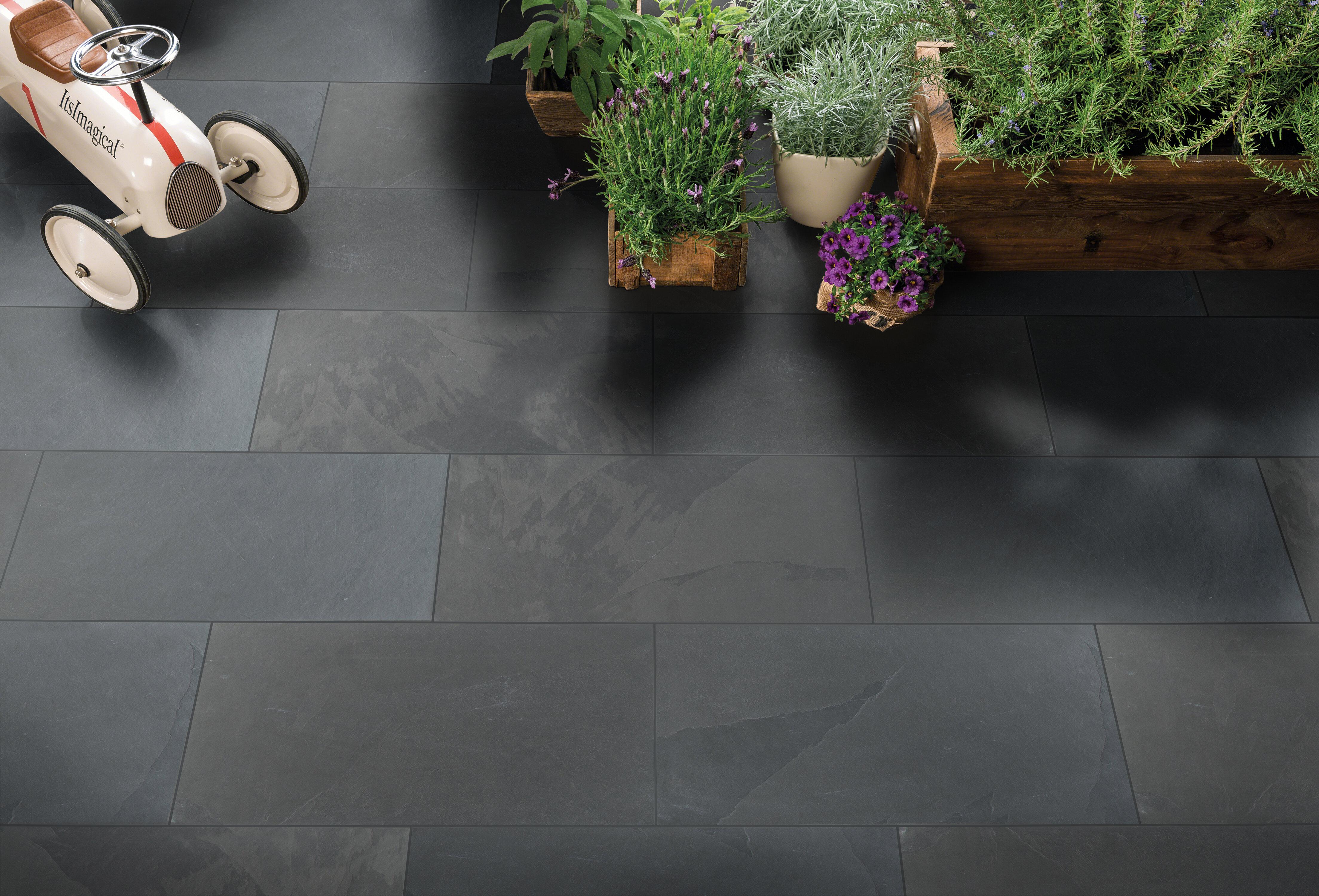 Msi Montauk 18 X 36 Slate Field Tile