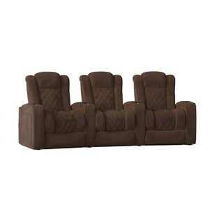 Continental Home Theater Row Seating Row of 3 by Red Barrel Studio