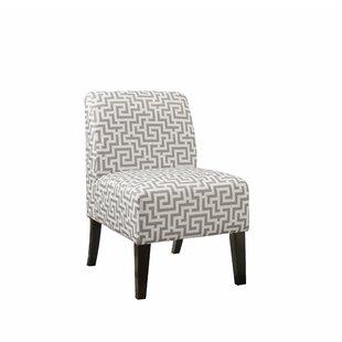 Caihe Slipper Chair by Winston Porter