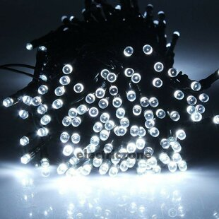 Meraz 39 ft. 100-Light Wide Angle LED Mini String Light (Set of 2)
