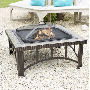 Kameron Steel Wood Burning Fire Pit By Sol 72 Outdoor