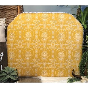 Houtz Arched Twin/Twin XL Upholstered Panel Headboard