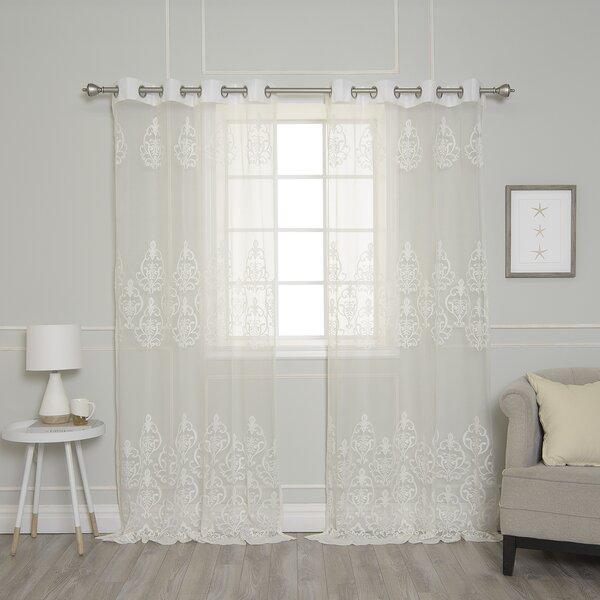 Vintage Lace Curtains Wayfair