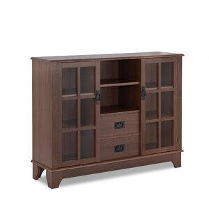 Dubbs 2 Drawer 2 Door Accent Cabinet