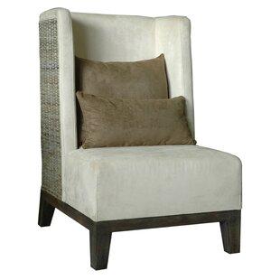 Wing back Chair by Jeffan