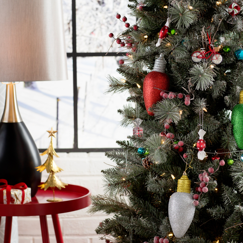 Light Bulb Christmas Ornaments.Light Bulb Ornament