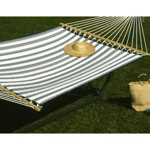 Hamby Large Quilted Polyester Hammock by Highland Dunes Bargain