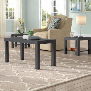 Ebern Designs Seabridge 3 Piece Mini Coffee Table Set