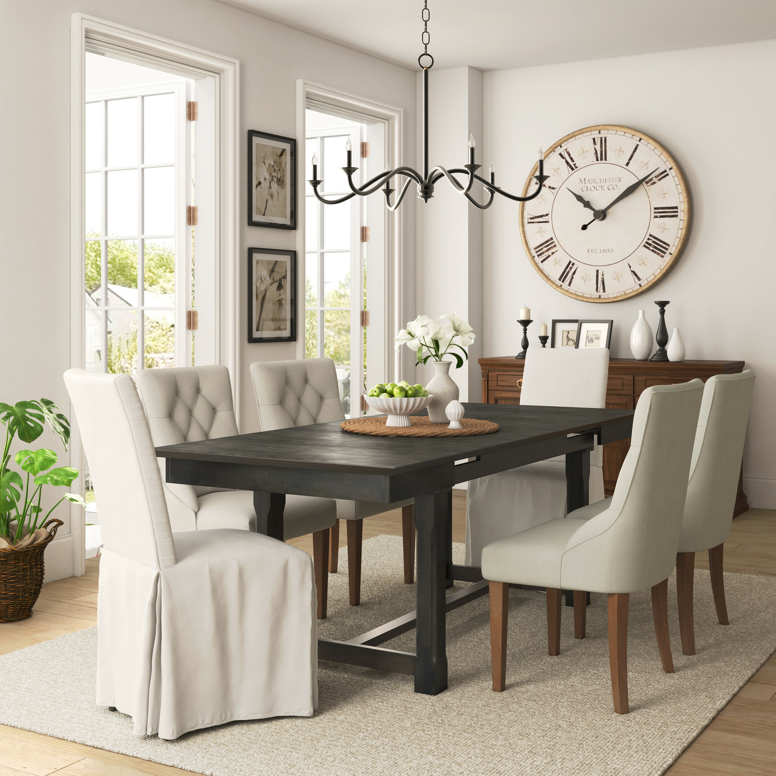 Gracie Oaks Ottawa Extendable Dining Table