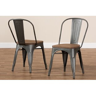 Vice Stackable Dining Chair (Set of 2) Williston Forge