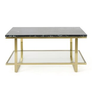Diboll Marble Coffee Table by Mercer41