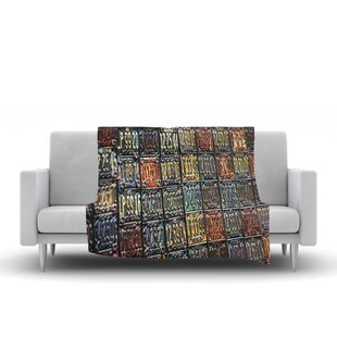 Incroyable Rusted License Plates Throw Blanket