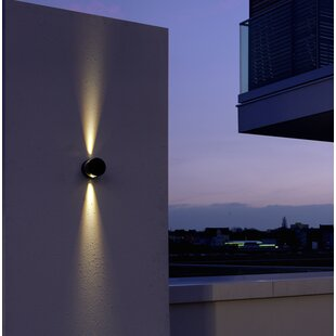 2-Light LED Outdoor Sconce By Symple Stuff