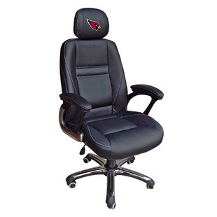 Tailgate Toss NFL Leather Desk Chair