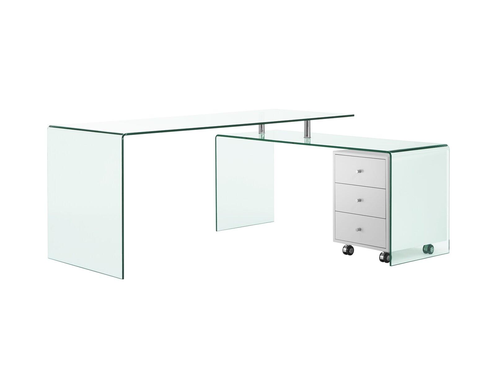 Orren Ellis Bogardus L Shape Desk Reviews Wayfair [ 1200 x 1600 Pixel ]
