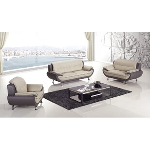 Hennings 3 Piece Living Room Set  by Orren Ellis
