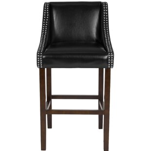 Beau Bar Stool Alcott Hill