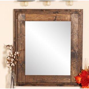 Farmhouse Mantelpiece Wall Mirror ByBrandt Works LLC
