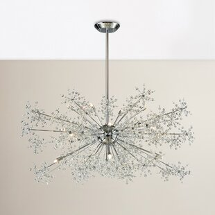 Mercer41 Crawford 20-Light Sputnik Chandelier
