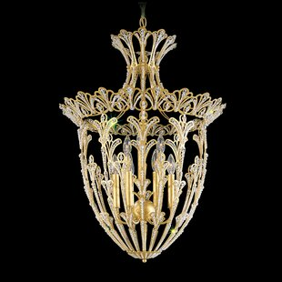 Rivendell 9-Light Crystal Chandelier by S..