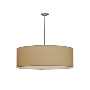 Meyda Tiffany Greenbriar Oak Cilindro Natural Textrene 8-Light Pendant