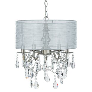 Reviews Alida 5-Light Chandelier By House of Hampton