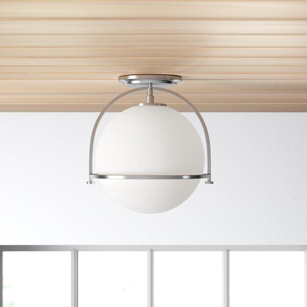Colvin 1 Light 11 12 Simple Globe Semi Flush Mount Reviews Allmodern
