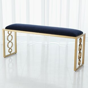 Progressive Ring Upholstered Bench