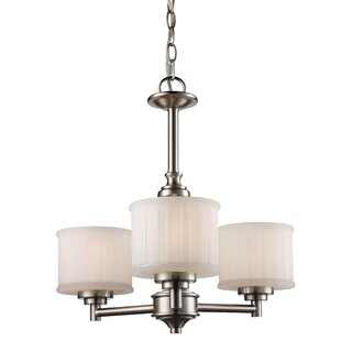 Darby Home Co Wedgewood 3-Light Shaded Chandelier