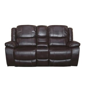 Joseph Reclining Loveseat by Red Barrel S..