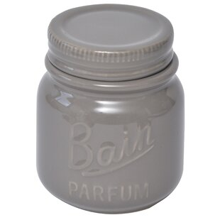 Mason Bathroom Storage Jar With Cover