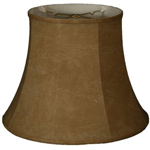 Leather or faux leather light shades youll love wayfair timeless 10 faux leather bell lamp shade aloadofball Choice Image
