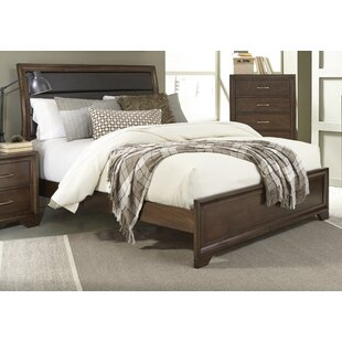 World Menagerie Mcdowell Upholstered Sleigh Bed
