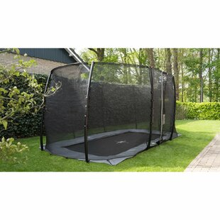 Interra 13' Backyard In-Ground With Safety Enclosure By Exit Toys