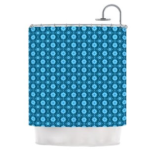 Read Reviews Floral by Nandita Singh Shower Curtain By East Urban Home