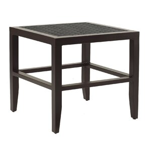 Tarver Classical Aluminum Side Table