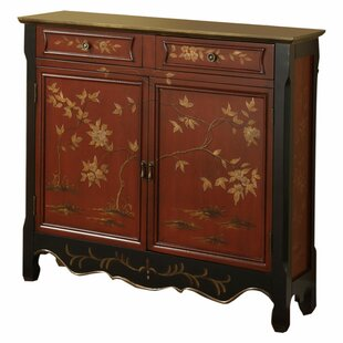 Lyons 2 Door 2 Drawer Accent Cabinet by World Menagerie