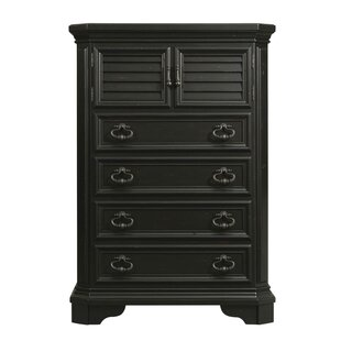 Puckett 4 Drawer Combo Dresser by Darby Home Co