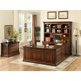 Antoine Rectangular Credenza Desk by DarHome Co Today Only Sale