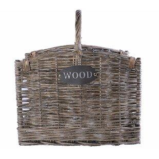 Huggins Wood Log Carrier By Union Rustic