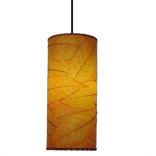 Compare & Buy Cylinder 1-Light Mini Pendant By Eangee Home Design