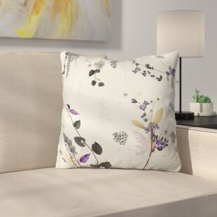 Iveta Abolina Woodland Dream Throw Pillow
